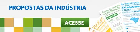 Propostas da indústria